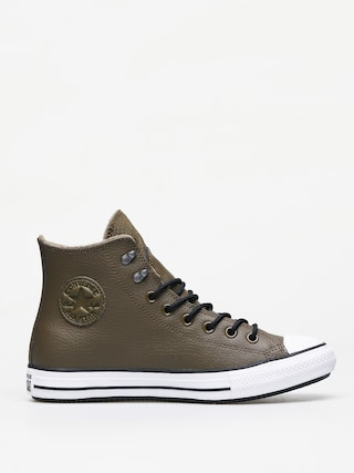 Teniu0219i Converse Chuck Taylor All Star Hi Winter Leather (surplus olive/black/white)