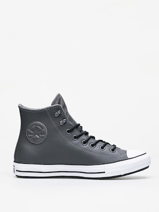 Teniu0219i Converse Chuck Taylor All Star Hi Winter Leather (carbon grey/black/white)