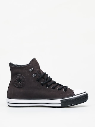 Teniu0219i Converse Chuck Taylor All Star Hi Winter Leather Gore Tex (velvet brown/white/black)