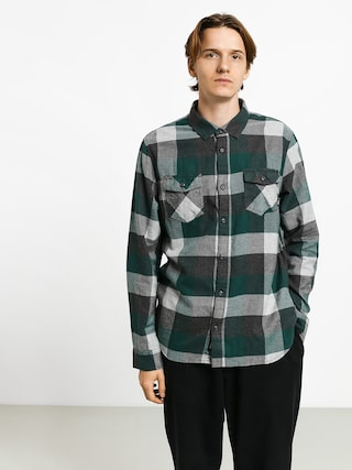 Cu0103mau0219u0103 Vans Box Flannel (trekking green/grey heather)