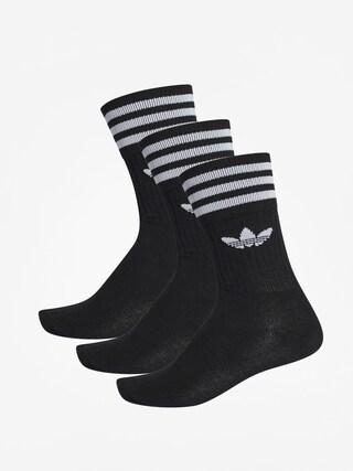 u0218osete adidas Solid Crew (black/white)