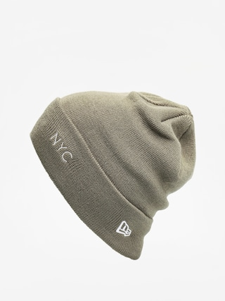 Cu0103ciulu0103 New Era Nyc Cuff Knit (olive/optic white)