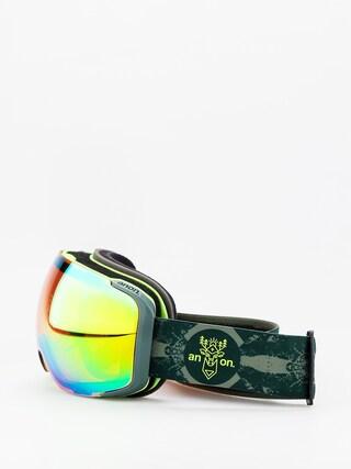 Ochelari pentru snowboard Anon M2 W Spare (deermtn/sonar green)