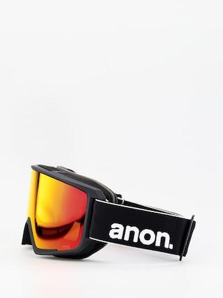 Ochelari pentru snowboard Anon M3 W Spare (black/sonar red)