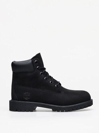 Pantofi Timberland 6 In Premium (black nubuck)