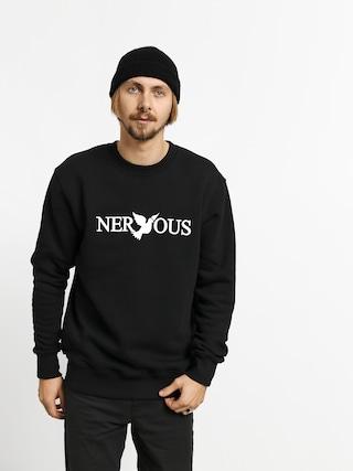 Hanorac Nervous Classic Crew (black/white)