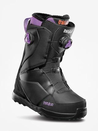 u00cencu0103lu021bu0103minte pentru snowboard ThirtyTwo Lashed Double Boa Wmn (black/purple)