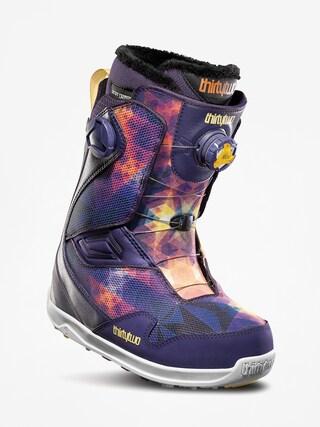 u00cencu0103lu021bu0103minte pentru snowboard ThirtyTwo Tm 2 Double Boa Wmn (purple)