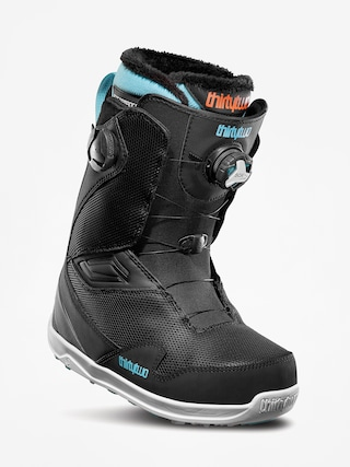 u00cencu0103lu021bu0103minte pentru snowboard ThirtyTwo Tm 2 Double Boa Wmn (black/blue/white)