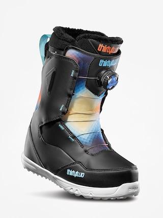 u00cencu0103lu021bu0103minte pentru snowboard ThirtyTwo Zephyr Boa Wmn (black/blue/white)