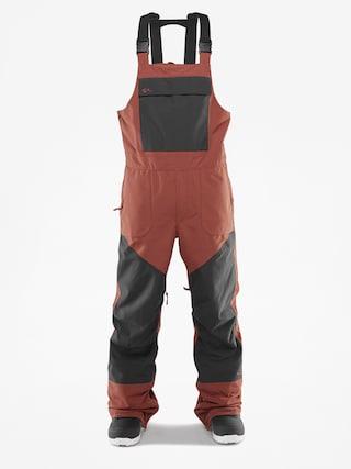 Pantaloni pentru snowboard ThirtyTwo Basement Bib (brick)