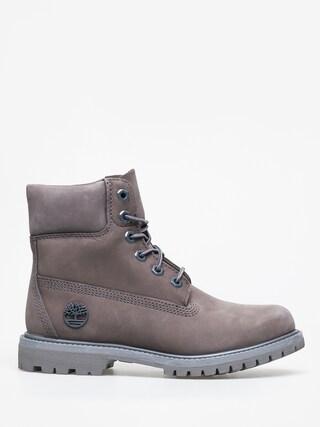 Pantofi Timberland 6 in Premium Wmn (medium grey nubuck)