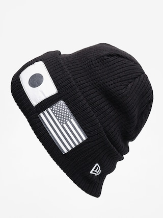 Cu0103ciulu0103 New Era Flag Watch Knit (black/optic white)