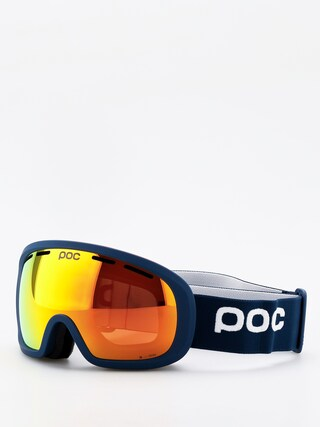 Ochelari pentru snowboard POC Fovea Mid Clarity (lead blue/spektris orange)
