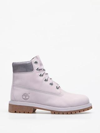 Pantofi Timberland 6 In Premium (light grey nubuck)