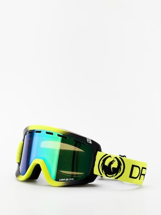 Ochelari pentru snowboard Dragon D1OTG (lime/lumalens green ion/lumalens amber)