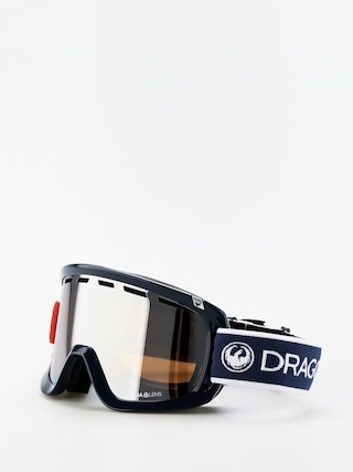 Ochelari pentru snowboard Dragon D1OTG (designer/lumalens silver ion/lumalens flash blue)