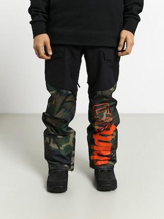 Pantaloni pentru snowboard ThirtyTwo Alpha (black/camo)