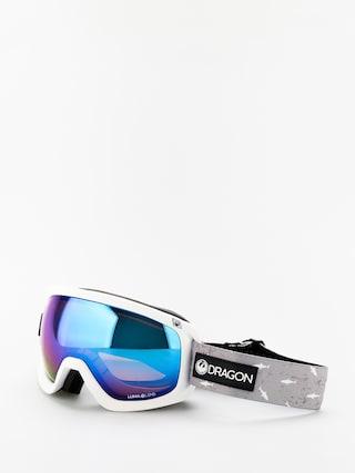 Ochelari pentru snowboard Dragon D3OTG (sharky/lumalens blue ion/lumalens amber)