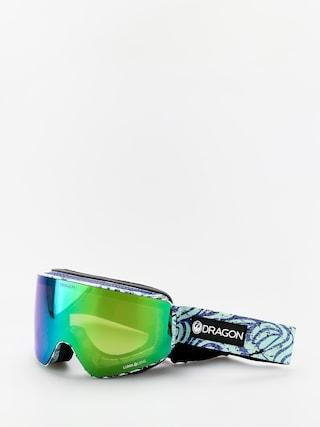 Ochelari pentru snowboard Dragon PXV (tropics/lumalens green ion/lumalens amber)