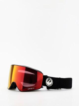 Ochelari pentru snowboard Dragon PXV (split/lumalens red ion/lumalens light rose)