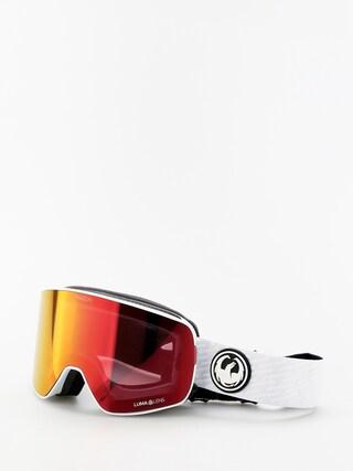 Ochelari pentru snowboard Dragon NFX2 (pk white/lumalens red ion/lumalens pink ion)