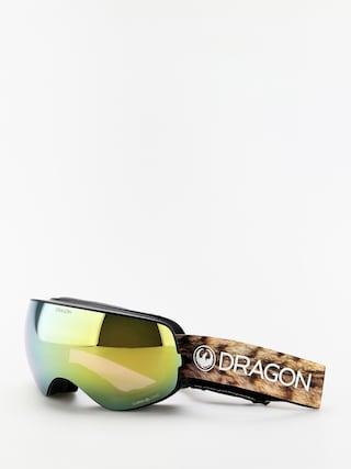 Ochelari pentru snowboard Dragon X2s (lynxxx/lumalens gold ion/lumalens amber)