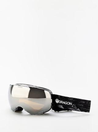 Ochelari pentru snowboard Dragon X2s (torn birch/lumalens silver ion/lumalens flash blue)