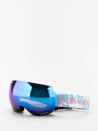 Ochelari pentru snowboard Dragon X1 (flamingos/lumalens blue ion/lumalens amber)