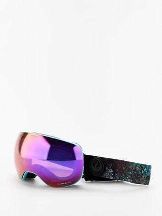 Ochelari pentru snowboard Dragon X2 (abalone/lumalens purple ion/lumalens amber)