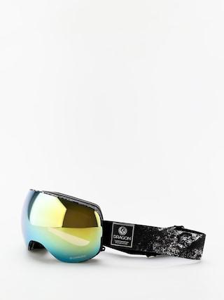 Ochelari pentru snowboard Dragon X2 (lunar/lumalens gold ion/lumalens amber)