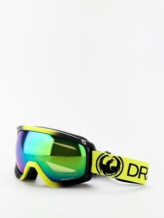 Ochelari pentru snowboard Dragon D3OTG (lime/lumalens green ion/lumalens amber)