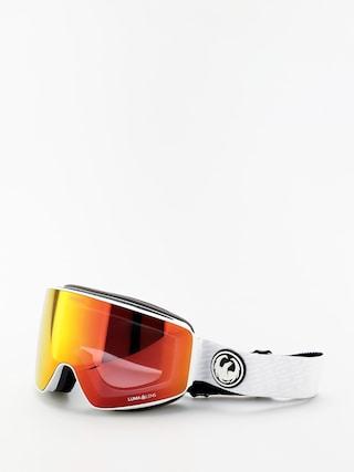Ochelari pentru snowboard Dragon PXV (pk white/lumalens red ion/lumalens pink ion)