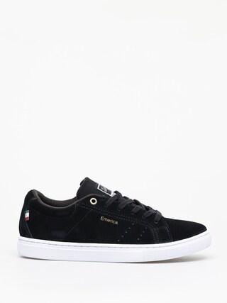 Pantofi Emerica Americana (black/white/gold)