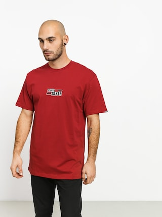 Tricou Vans X Baker Speed Check (cardinal)