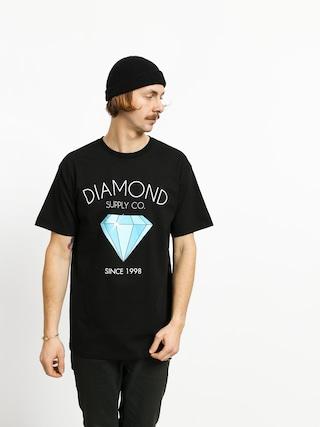 Tricou Diamond Supply Co. Classic Diamond (black)