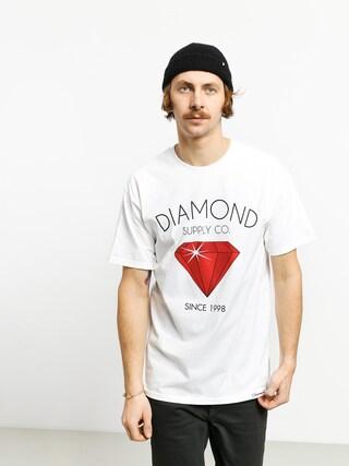 Tricou Diamond Supply Co. Classic Diamond (white)