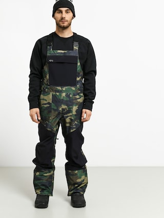 Pantaloni pentru snowboard ThirtyTwo Basement Bib (camo)