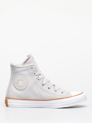 Teniu0219i Converse Chuck Taylor All Star Hi Faux Leather Wmn (pale putty/white/honey)