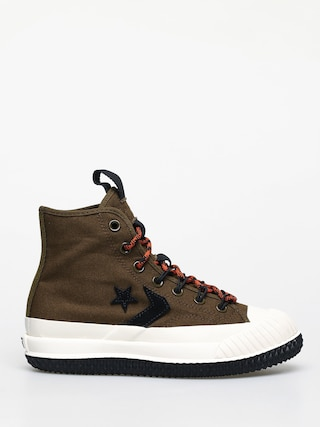 Teniu0219i Converse Bosey Mc Water Repellent Wmn (surplus olive/campfire orange)