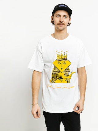 Tricou Diamond Supply Co. The Queen (white)