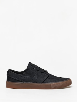Pantofi Nike SB Zoom Janoski Canvas Rm (black/black gum light brown black)
