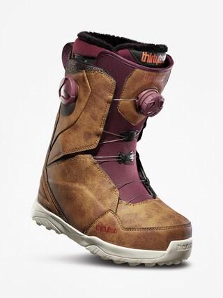 u00cencu0103lu021bu0103minte pentru snowboard ThirtyTwo Lashed Double Boa Wmn (brown)