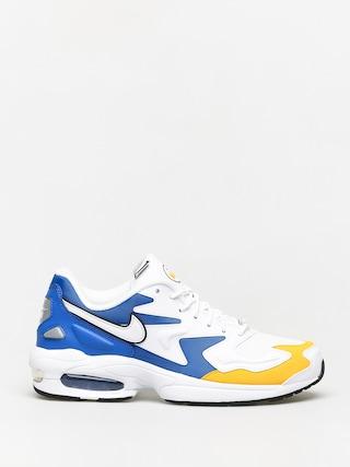 Pantofi Nike Air Max2 Light Prm (white/white university gold game royal)