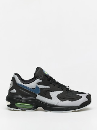 Pantofi Nike Air Max2 Light (black/thunderstorm wolf grey volt)
