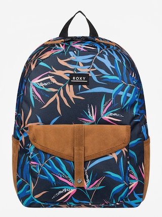 Rucsac Roxy Carribean Wmn (anthracite wild leaves)