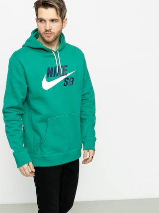 Hanorac cu glugu0103 Nike SB Sb Icon HD (neptune green/white)