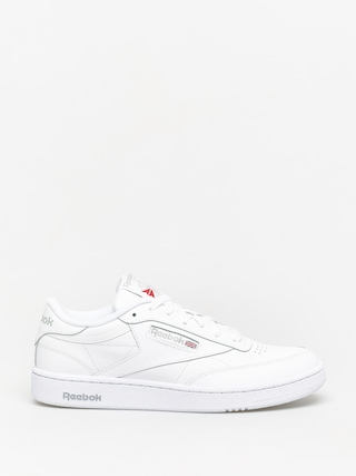 Pantofi Reebok Club C 85 (white/sheer grey)