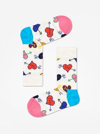 u0218osete Happy Socks Linda And Johnny Ramone (natural/blue/pink)