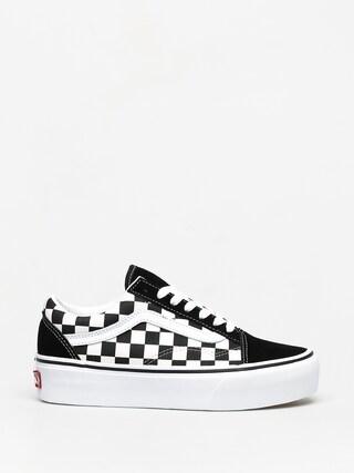 Pantofi Vans Old Skool Platform (checkerboard black/true white)